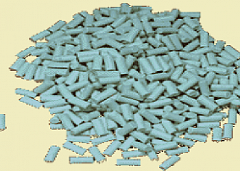 Chip abrasivo de porcelana